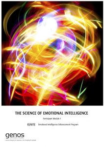 The Science of Emotions