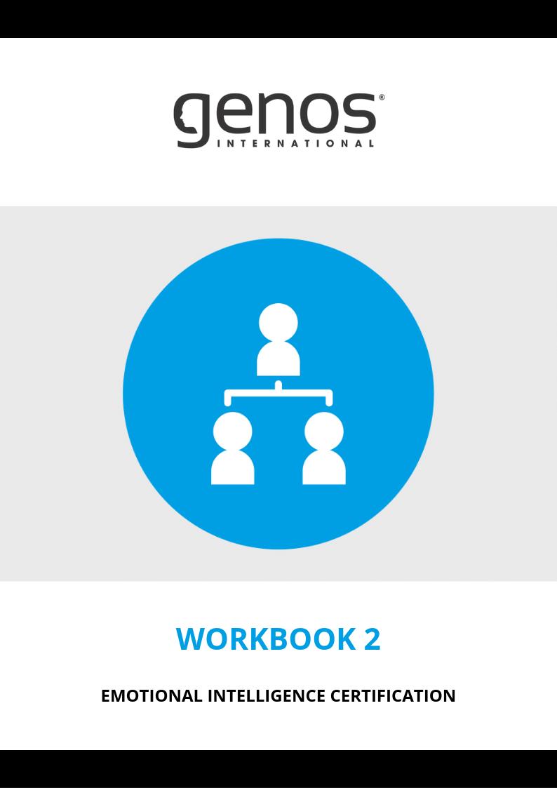 Emotional Intelligence Course Online | Genos International