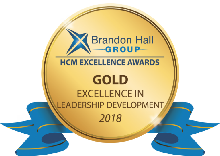 Gold Medal Winner of the 2018 Brandon Hall Group Excellence Awards