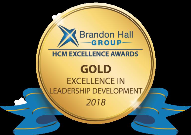 Gold medal for Leadership Development